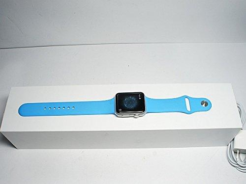 Apple Watch Sport 42mm MJ3Q2J/A [ブルースポーツバンド]