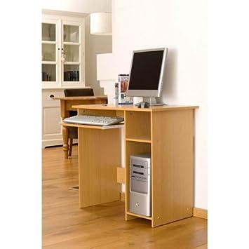 Computertisch holz  Holz Computertisch, Schülerschreibtisch, Schreibtisch: Amazon.de ...