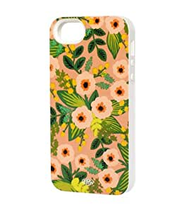 Rifle Paper Co - Peach Flower Iphone 5/5s Hard Case with Inlay