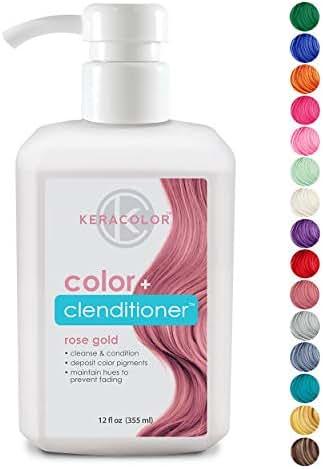 Shampoo & Conditioner: Keracolor Clenditioner Color Depositing Conditioner