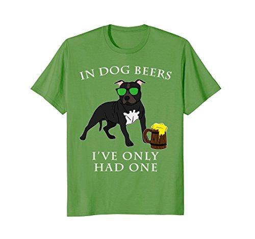 Staffordshire Bull Terrier T Shirt Irish St Patricks Day (Long Leg Staffordshire Bull Terrier For Sale)