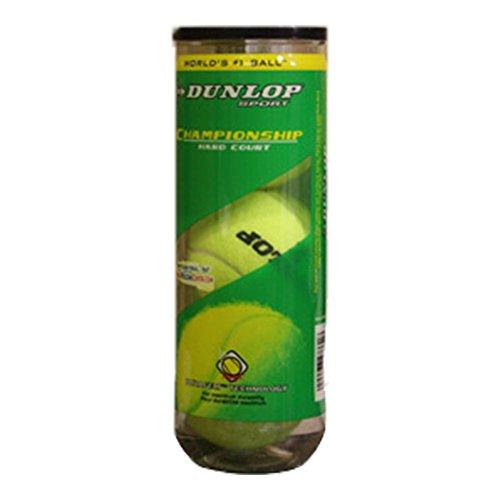 Dunlop Sports Champ Hard Court 3 Ball Can