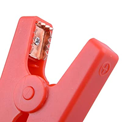 SalaBox-Accessories - Car EC5 Plastic Shell Booster Cable Alligator Clamp Clip Connector Battery Jumper Jump Starter Plug