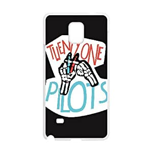 Personalized Durable Cases Samsung Galaxy Note 4 N9108 Cell Phone Case White twenty one pilots logo Xrwdev Protection Cover