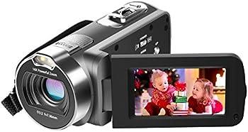 Besteker Full HD 1080p Micro SD/SDHC Camcorder