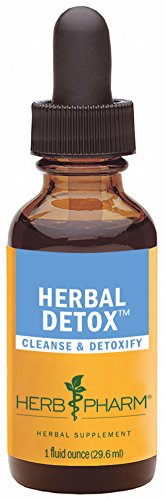 Herb Pharm Herbal Detox Formula for Cleansing and Detoxification – 1 Ounce
