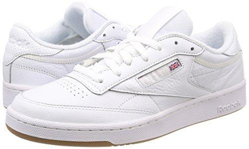 9 REEBOK Sneaker US C Club ESTL 85 EU 42 Herren fY1qf