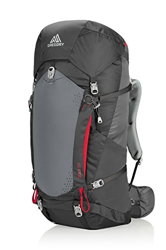 Gregory Mountain Products Zulu 55 Liter Men's Backpack, Feldspar Grey, - Gregory Products Steel