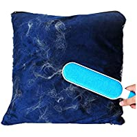 ANTOLE Pet Hair Remover Brush Hair Removal Mitts Rollers Magic Cloth Fabric Brush Double-Sided Dog & Cat Hair Remover for Furniture, Couch, Carpet, Clothing