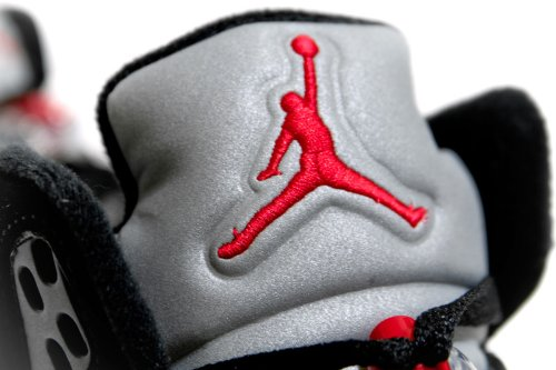Nike Air Jordan 5 Retro black 136027 004 (44.5 / 10.5 us / 9.5 uk)