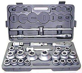 1//4 Drive Stubby Hex Bit SAE Driver Socket Set GEARWRENCH 9 Pc 81149