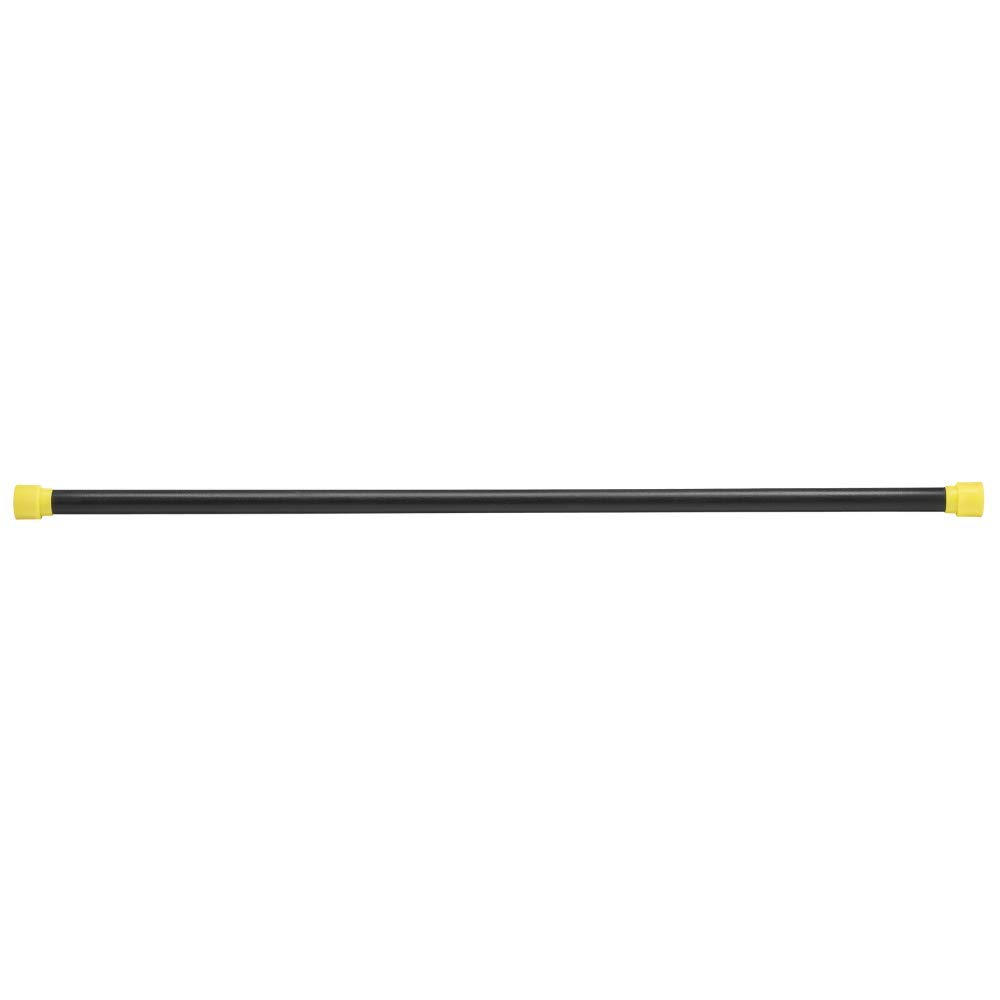 Body-Solid Tools Weighted Bar, 9 Pounds, Yellow