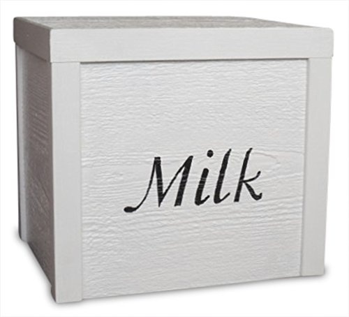 Wooden Milk Delivery Box (New)