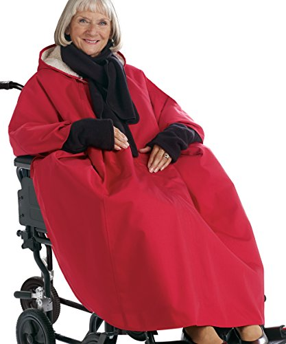 Adaptive Clothes - Womens and Mens Unisex Adaptive - Red
