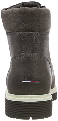 Bottes Tommy Iconic Grey Homme Jeans steel 039 Boot Rangers Suede Gris 11HTfq