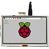 5 inch 800x480 Resistive touch screen LCD Display Monitor HDMI For Raspberry Pi 2 3