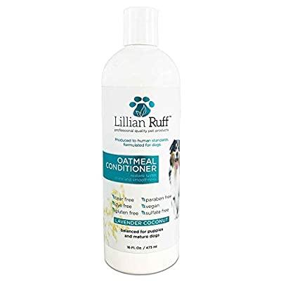 Lillian-Ruff-Dog-Oatmeal-Conditioner-Safe-for-Cats-Lavender-Coconut-Scent-for-Itchy-Dry-Skin-with-Aloe-Soothe-Skin-Irritation-and-Relieve-itching