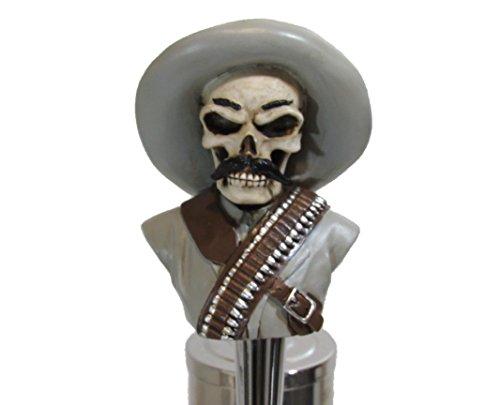 - Pancho Villa Sports Bar Beer Tap Handle Kegerator Resin Zombie Breweriana Bar