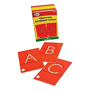 Didax Educational Resources Sandpaper Letters, Upper case