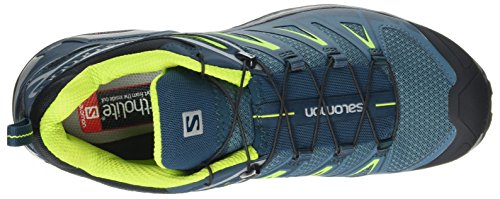 Salomon Herren X Ultra 3 Kletterschuhe Blau (Mallard Blue/reflecting Pond/lime Green)