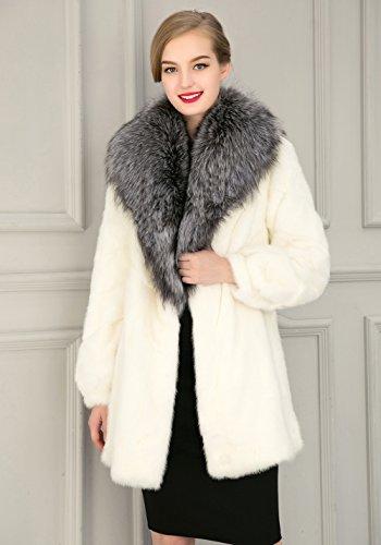 VLUNT - Abrigo - para mujer blanco