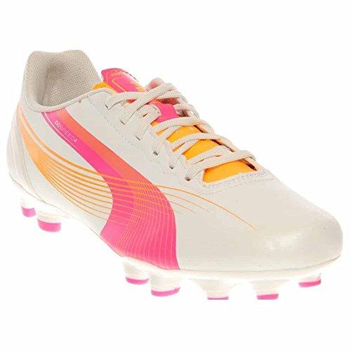 Puma Kvinnor Evospeed 4,2 Fg Fotboll Cleat Vit
