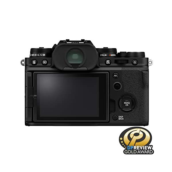 RetinaPix Fujifilm X-T4 Mirrorless Digital Camera (Body Only, Black)