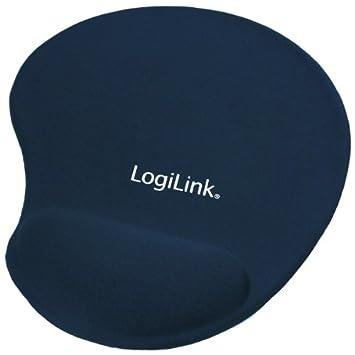 pink LogiLink Mauspad mit Silikon Gel Handauflage