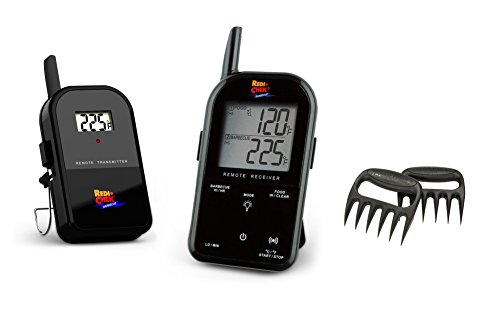 Find Discount Maverick Wireless Barbecue Thermometer - Black ET732 - Includes Bear Paw Meat Handlers