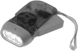 Chromo Inc Immedia Light Crank Flashlight 4 Pack Emergency Home or Car  Green
