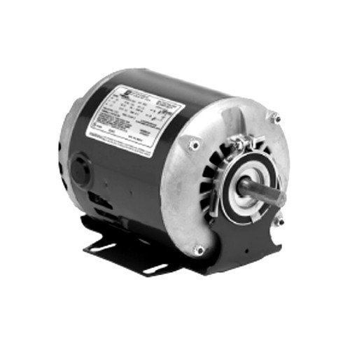 ODP Split Phase Belted Fan & Blower Motor, 48 (115V, 1/2 HP, 1725 RPM)