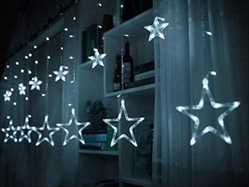 ATNEET4m Weihnachten führte Lichterkette 220v geführte Vorhangschnur-Beleuchtung für Stecker-Weiß des Feiertags-220V EU
