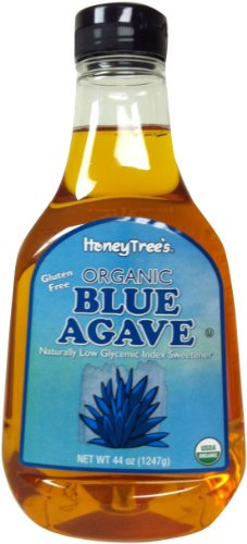- HoneyTree Organic Blue Agave, 44-Ounce