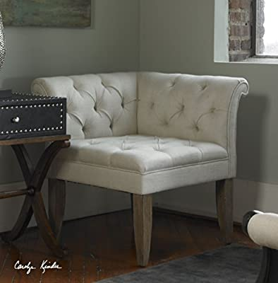 Classic Tufted Chesterfield Corner Chair