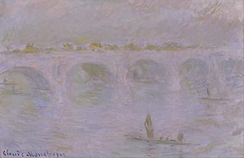 - Claude Monet Waterloo Bridge in London National Museum of Western Art 30