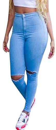 High Waist Trouser Jeans - 8
