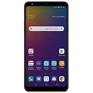"LG Stylo 5 LM-Q720 6.2"" Smartphone  – Unlocked – 32 GB – Silvery White (Renewed)"