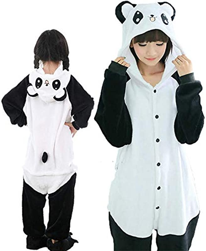Pyjama Adult Animal Couple Winter Pyjama Anzug Nachtwäsche Flanell Pijama: Odzież