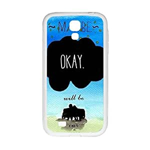 DAZHAHUI May Be Okay Fashion Comstom Plastic case cover For Samsung Galaxy S4
