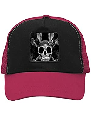 Unisex Rabbit Skull Bunny Adjustable Classic Hiphop Hat Baseball Cap Snapback Dad Hat