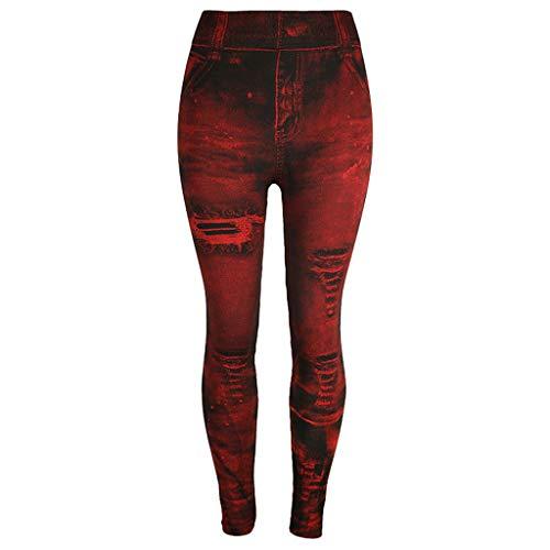 Slim Nine-Minute Pants Women Jeans Bottom Pants Coloured Hip-up Super Bomb -