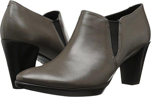 Platform Stack Heel Boots - ECCO Women's Women's Shape 55 Plateau Stack Shootie Platform Pump,Stone,41 EU / 10-10.5 US