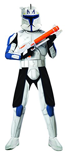 Rex Star Wars (Rubie's Costume Star Wars The Clone Clonetrooper Captain Rex, Multicolored, One Size Costume)