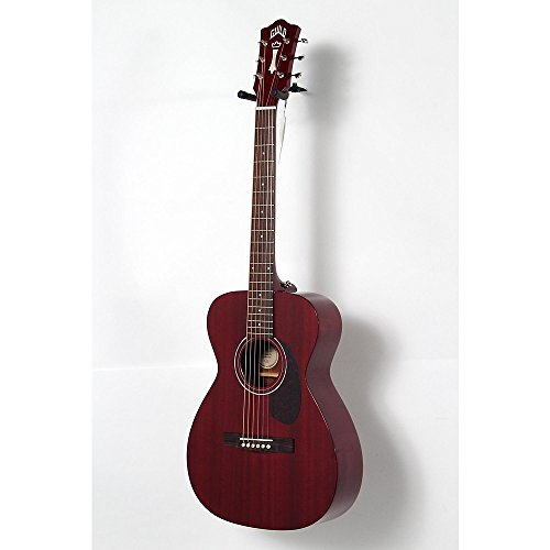 Guild M-120E Acoustic-Electric Guitar Level 2 Cherry Red 190839071262 -  USED005005 384-1204-838