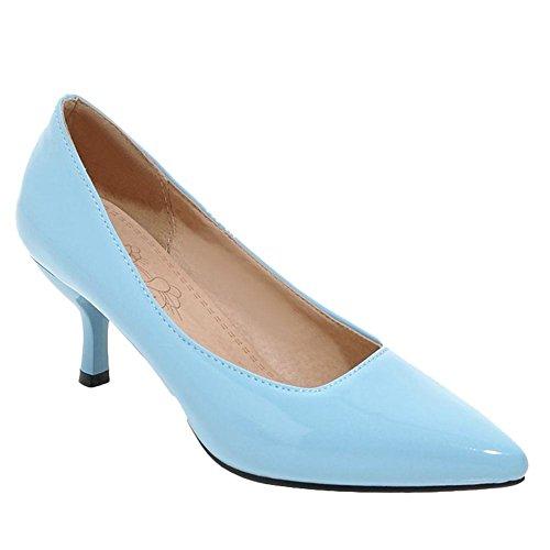 Donna Scarpe Azzurro Elegante Misssasa Lavoro HPx4PX