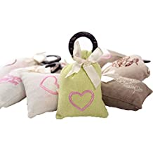 """Set of 4 Lovely 2""""x4"""" Sachets Filled with Green tea Fragrance"""