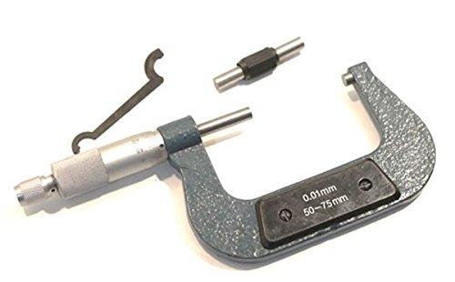 MICROMETRO SPESSIMETRO CENTESIMALE ANALOGICO PALMER 50--75 mm GENERICO