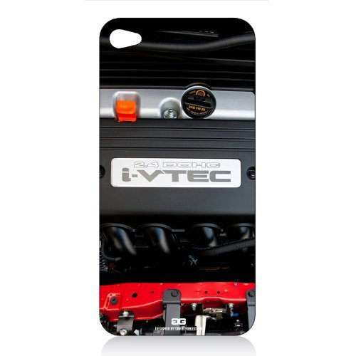 Honda i-VTEC Engine Block iPhone 4 4S Vinyl Cell Phone Skin