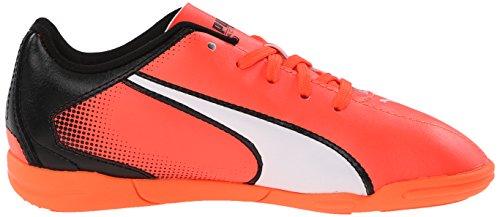 Lava Blast Indoor Black White Jr Soccer Puma Adreno Shoe wS6qHXB