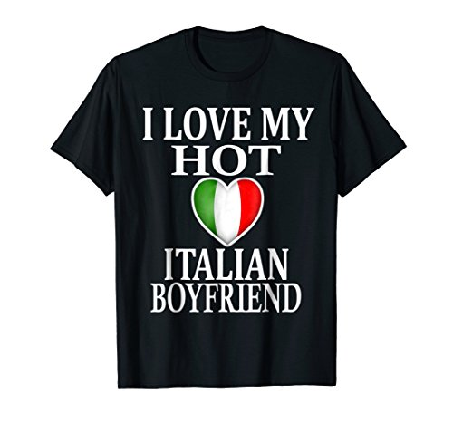 i love italian girls shirt - 9